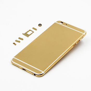 24kt  gold housing Gold&Co white lines for iphone 6 6s plus