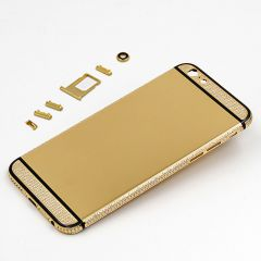 Luxury 24kt gold iphone 6s plus with diamonds