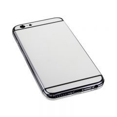 iphone 6 shiny silver back cover