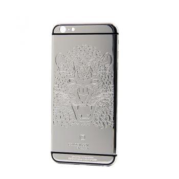 iPhone 6 platinum housing cover leopard design