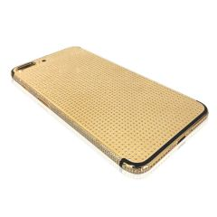 Full diamond iPhone 7plus gold housing 24k