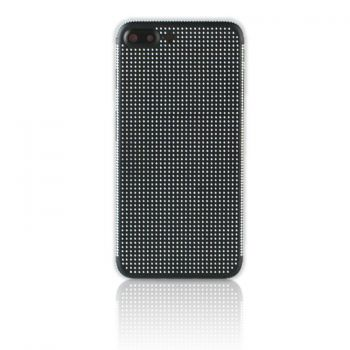 iPhone 7 Plus black housing with full white diamonds