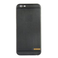 Matte black iPhone 6 housing Grid design