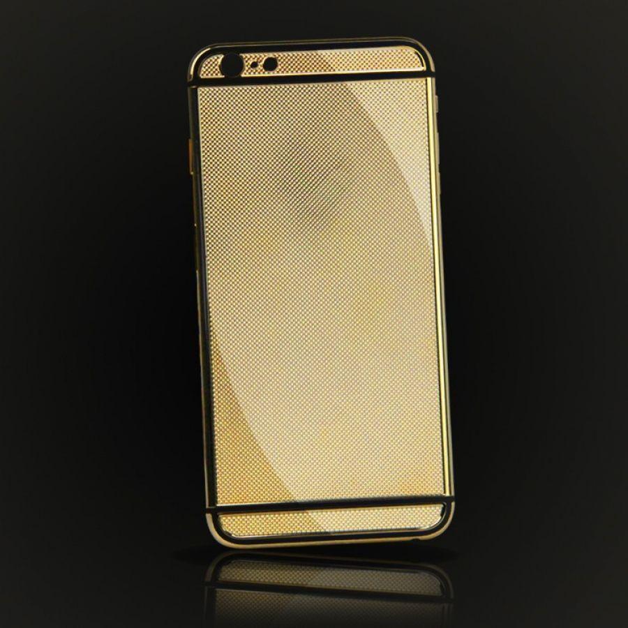 iphone 6s 6 replacement parts 18k rose gold plaid design. Black Bedroom Furniture Sets. Home Design Ideas