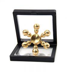 Brass fidget spinner hand toy