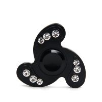 Diamond Fidget Spinner black