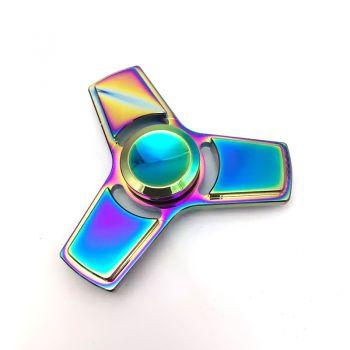 Rainbow Metal Hand Spinner EDC Fingertip Fidget Spinner Diy