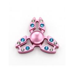 Crystal diamond fidget spinner 24 rhine stone